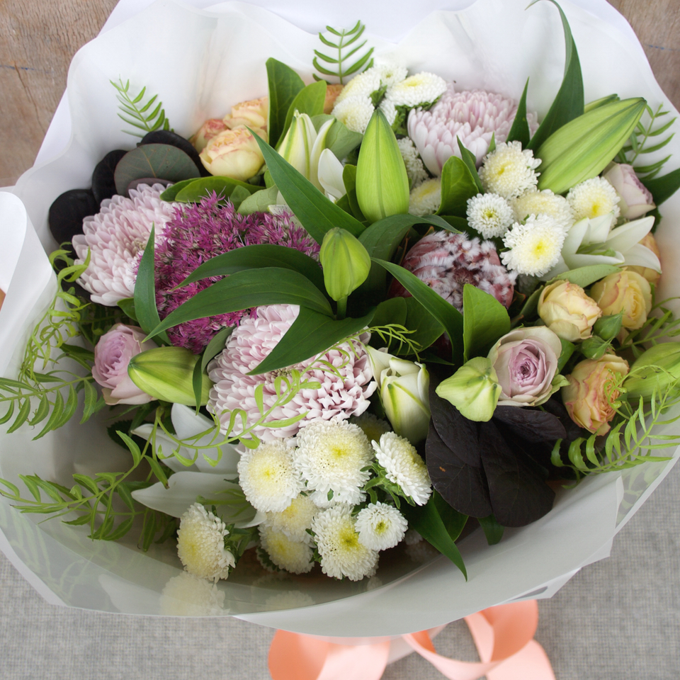 Vintage Bouquet of Flowers
