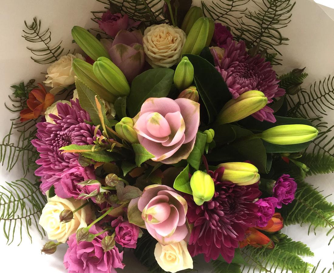 Bouquet of Vintage Flowers