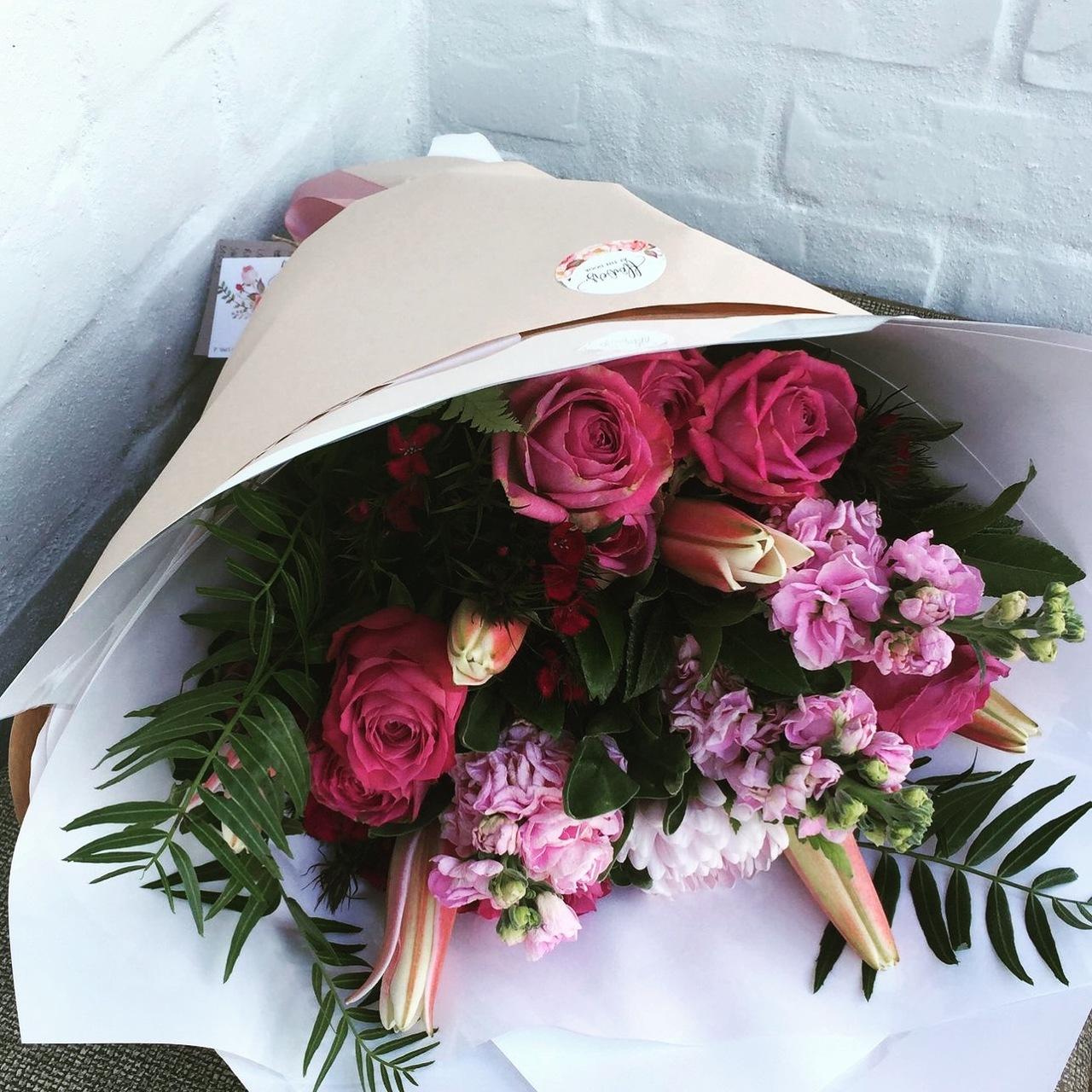 Seasonal Vintage Bouquet of Flowers