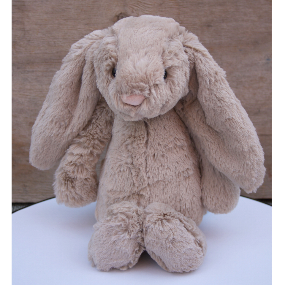 Bashful Beige Bunny Medium - Soft Toy