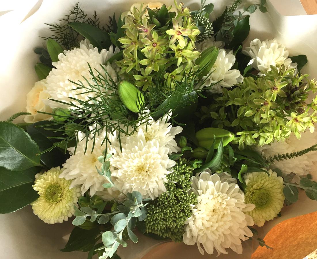 Bouquet of Flowers Elegant Palette