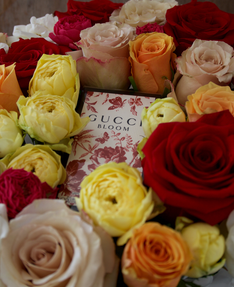 Gucci Bloom with Roses