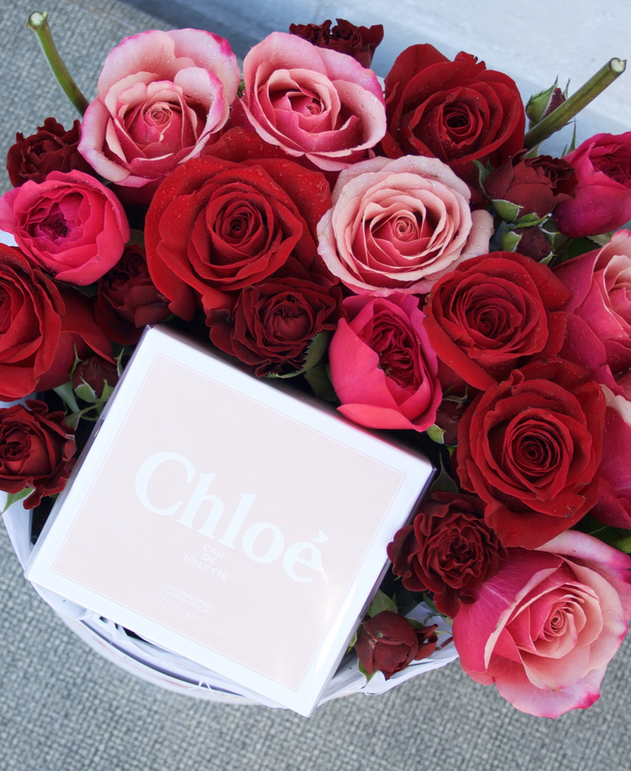 Chloe Blooms with Roses