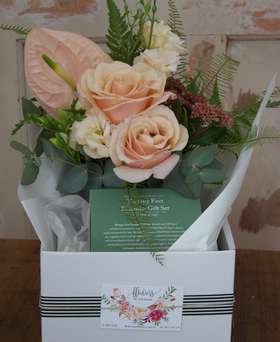 Coffee Cup Posy with Treat
