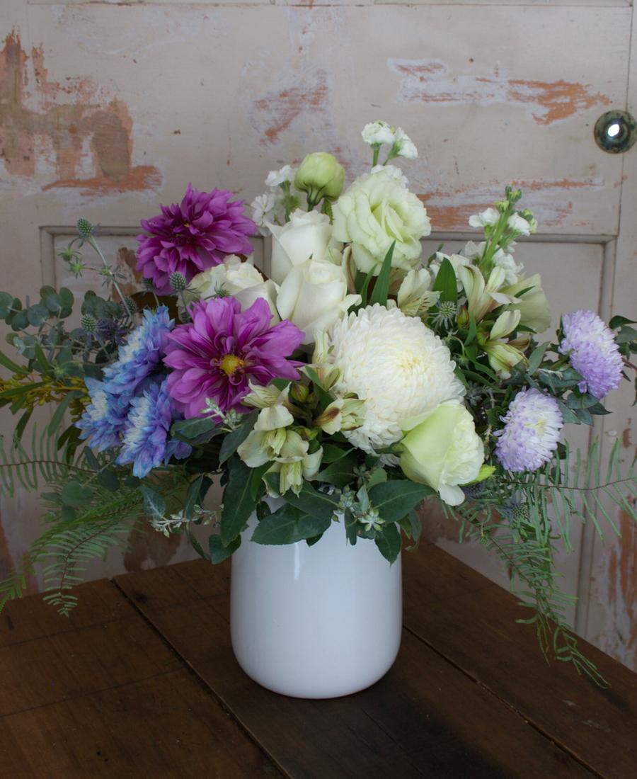 Seasonal Mixed Flower Arrangement