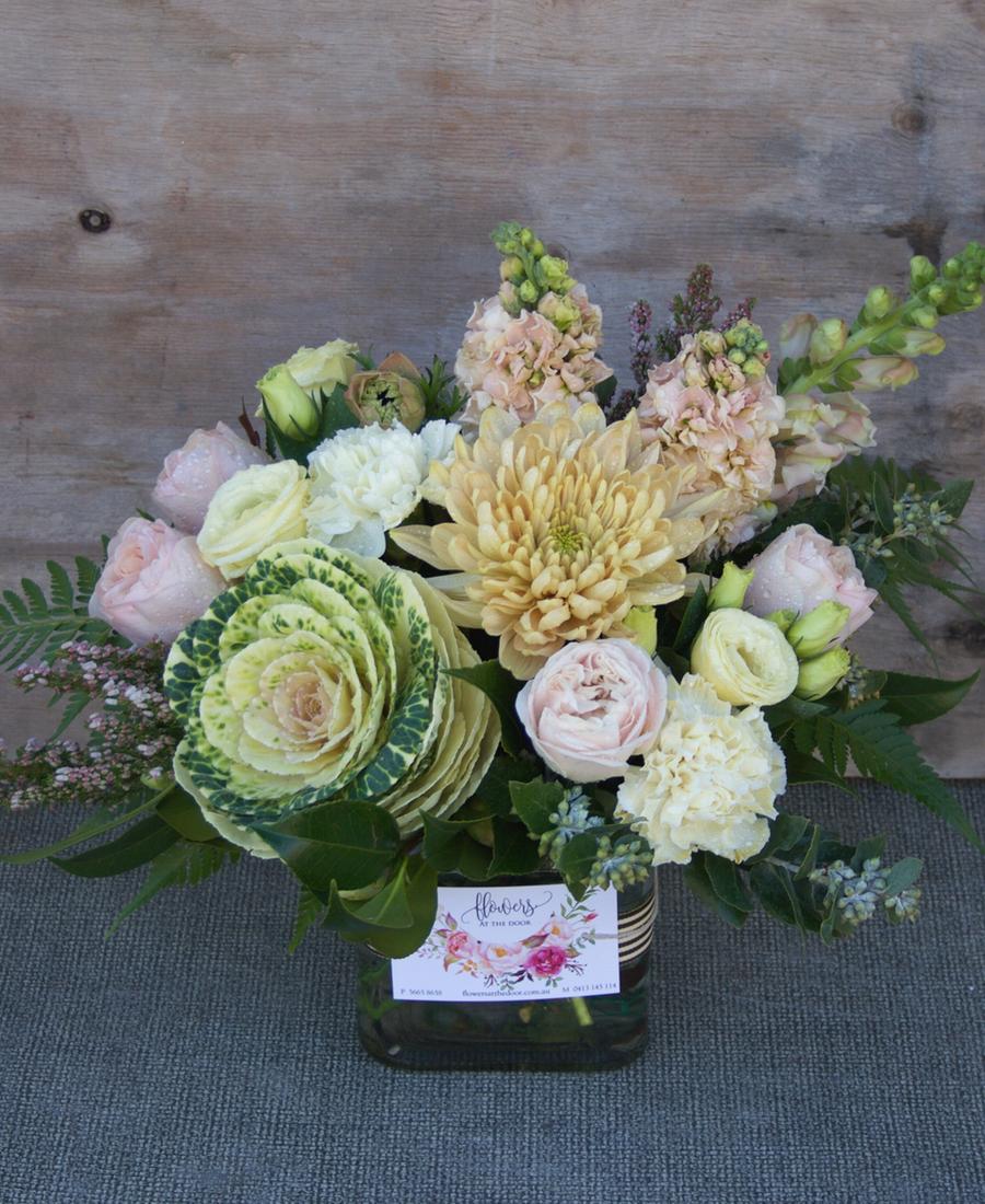Small Vase of Flowers Vintage