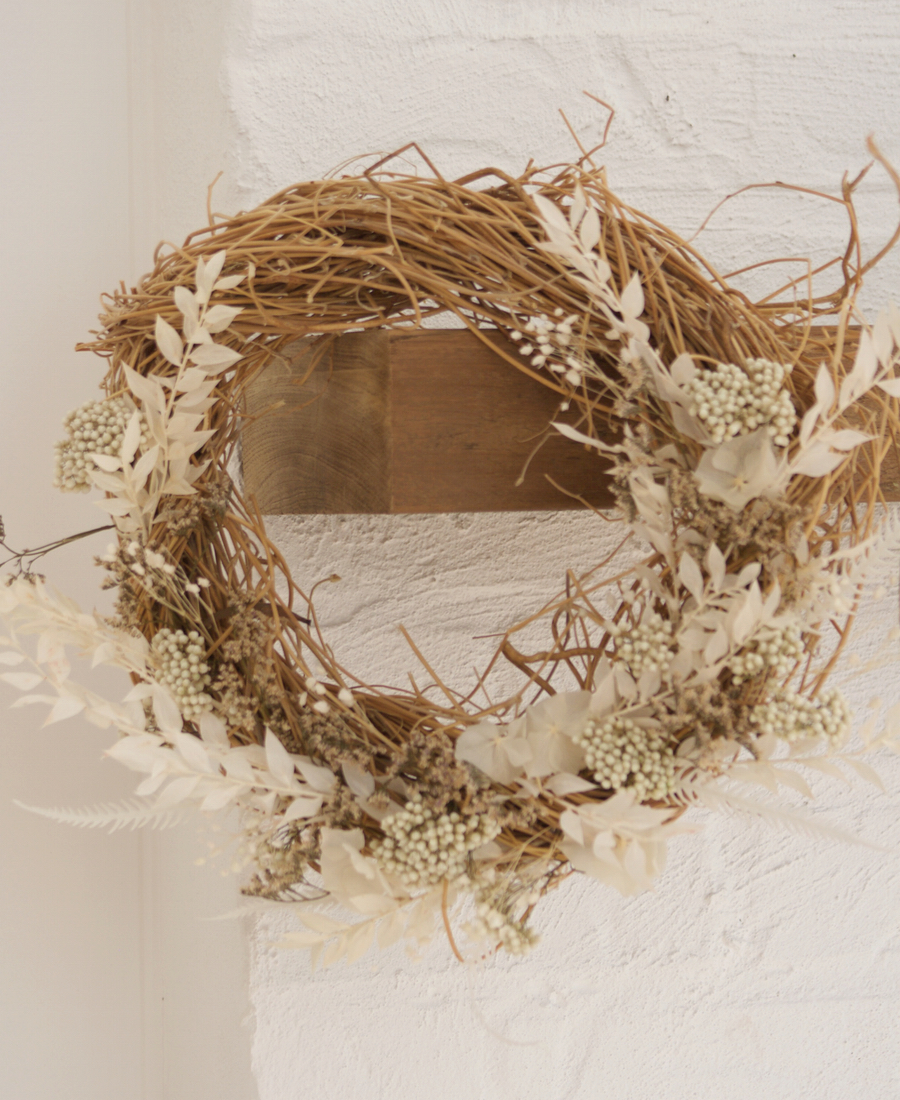 Wreath Preserved Dried