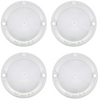 1958 Chevy Bel Air Biscayne Clear Park Light Lenses 4 Four Piece Set New