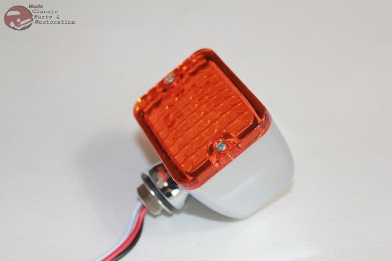 Medium Small LED Red Rod Light Park Stop Turn Tail Hot Rat Street Custom Truck
