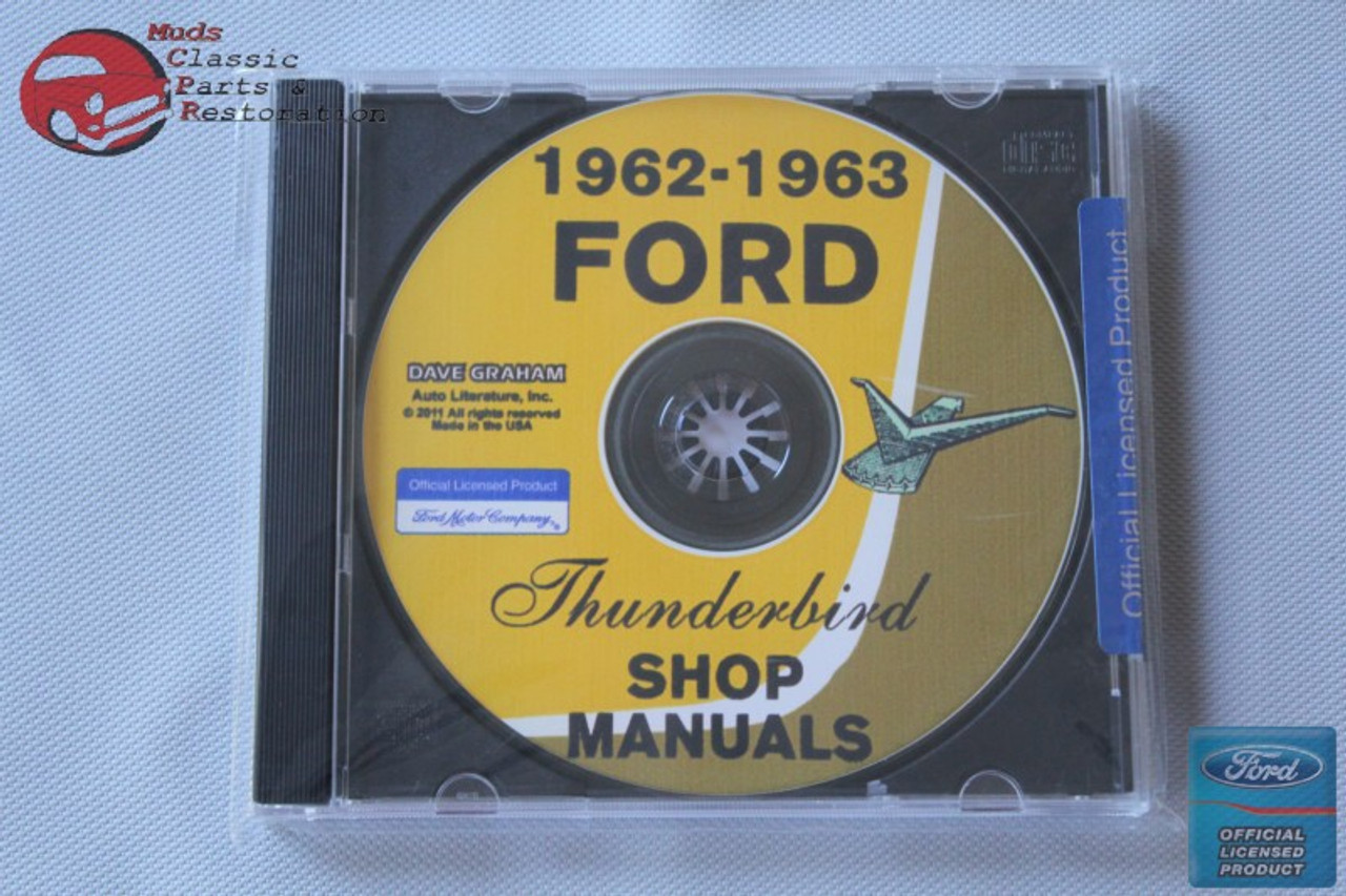1964 1965 1966 THUNDERBIRD /& Full Ford PARTS CD Manual!