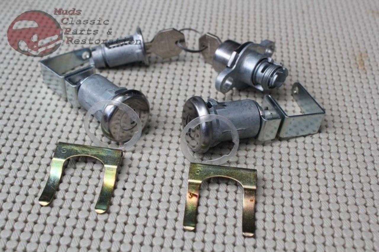 GM keys 1959-1964 Cadillac 2-Door Hardtop//Convertible Ignition /& Door Lock Set