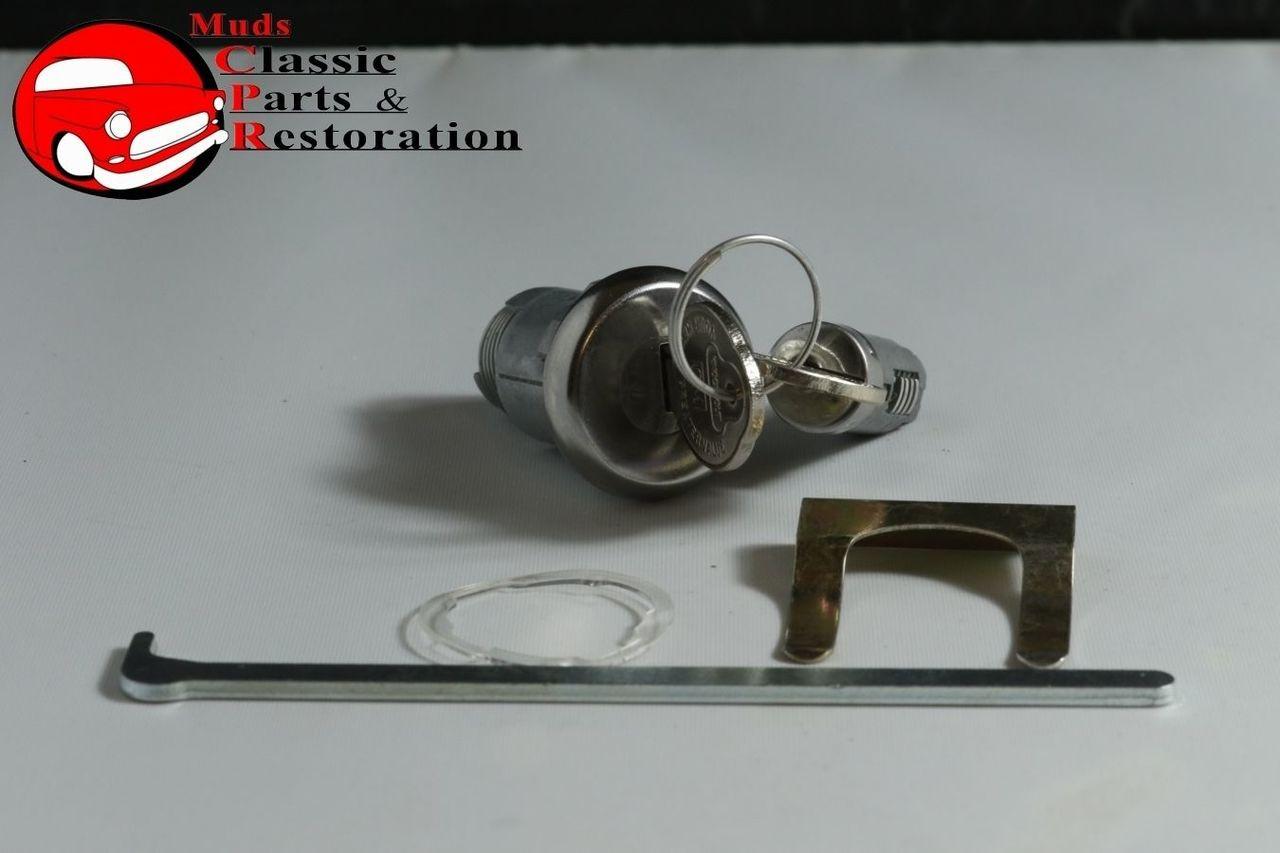 67 Chevelle Glovebox & Trunk Lock Pear Shape OEM Original Keys Case Not  Included