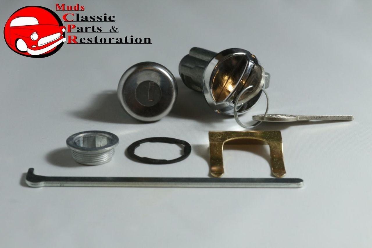 68 Impala/Chevelle Locks, Glovebox & Trunk Original OEM Pear Head Keys New