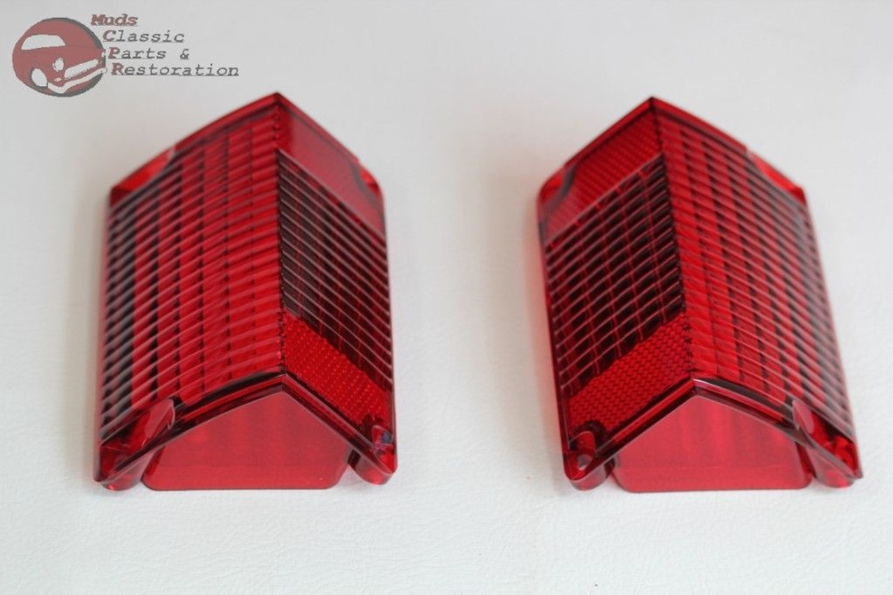 Each 70-72 Chevelle Wagon Left Hand Tail Light Lens