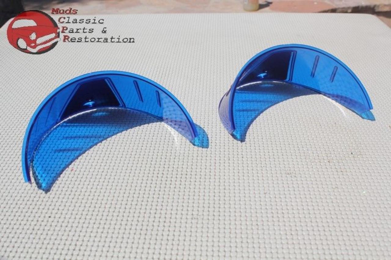 ... Blue Headlight Headlamp Visor Bulb Trim Poker Golf Hat Cover Custom Car  Pickup 2c57ecd0f444