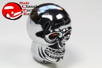 Custom Chrome Skull Gearshift 4 Speed Manual Stick Custom Truck Hot Rat Rod New