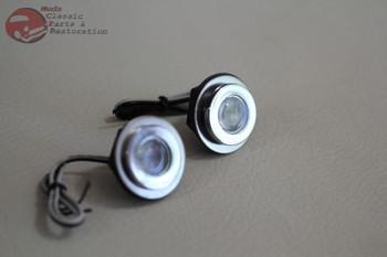 Custom Led Mini Fasteners Accents Marker Utility Lights Truck Hot Rat Rod Red