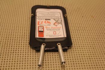 Ez-On Vintage Steering Column Sun Visor Mount Registration Insurance Card Holder
