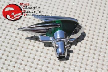 Vintage Classic Custom Car Truck Fender Guide Style Green Antenna Topper Hot Rod