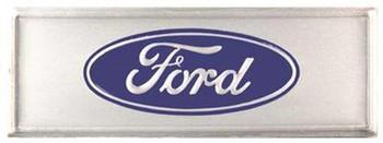 68-77 Bronco 65-66 Mustang Aluminum Door Sill Step Plate Decals Emblems New