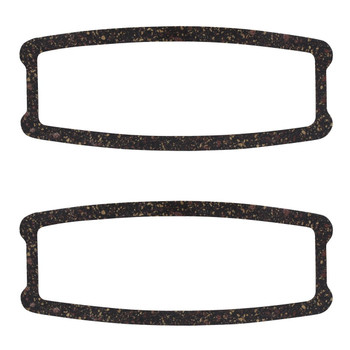 41-48 Chevy Passenger Car Rear Lamp Lens Lenses Foam Gaskets Set Of 2 New