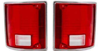 1973-1991 Chevrolet GMC Pickup Pick up Truck Tail Light Tailight Lenses Lens