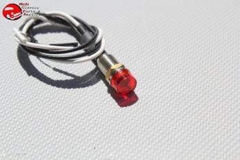 12 Volt Red Led Dash Indicator Signal Flasher Utility Light Custom Hot Rat Rod