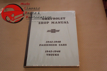 42 43 44 45 46 47 48 Chevy Car 42 43 44 45 46 Chevy Truck Shop Manual