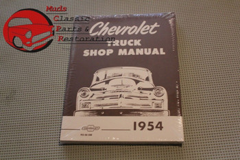 54 Chevy Truck Shop Manual