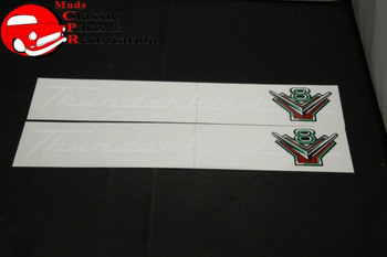 55 56 Ford I-6 Valve Cover Decal - Muds Classic Parts