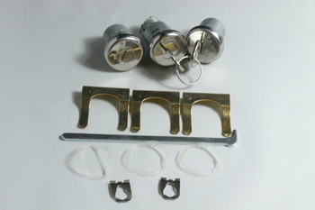 67 Chevelle 68 Camaro; Gm Door Trunk Locks Pear Head Keys