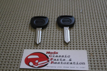 99-06 Gm Gmc Spare Key Blanks W/Logo Set Of 2 Non-Chipped Yukon Sierra Envoy