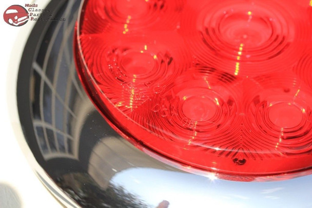 Custom Large Truck Hot Rat Rod Tail Lamp Lights Stop Turn Dune Buggy Sandrail