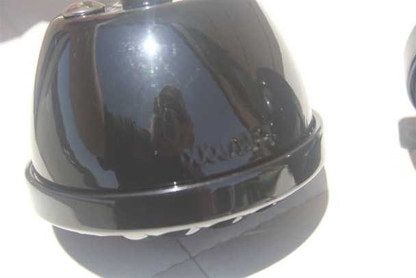 Custom Hot Rod Truck Tail Light Lamps Duolamp Black Grill Bezel Right Left Pair