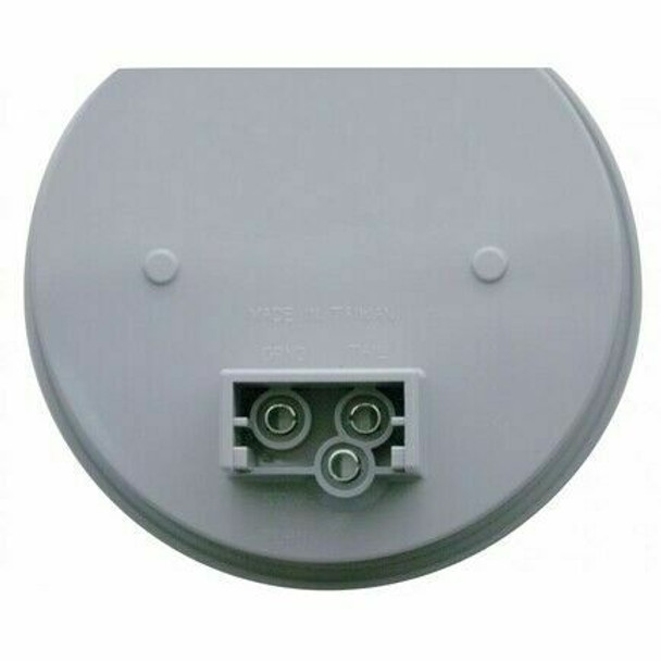 """4"""" 12 Led Reflector Stop Turn Utility Auxiliary Light White"""