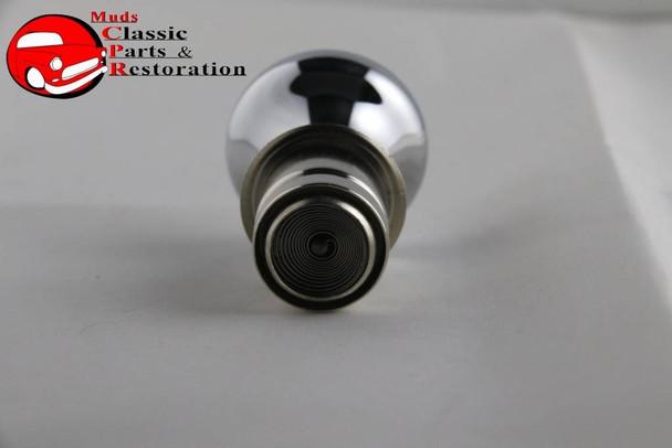Casco Deluxe Chrome Cigarette Lighter Knob Element Clear Diamond Top Accent Dash