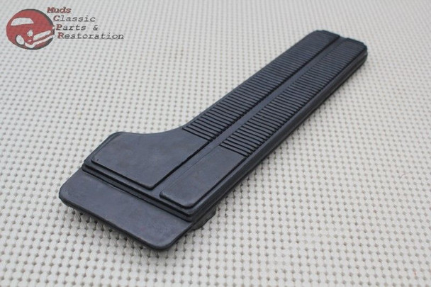 1965-70 Impala Chevelle Chevy Truck Rubber Accelerator Gas Pedal Pad With Trim