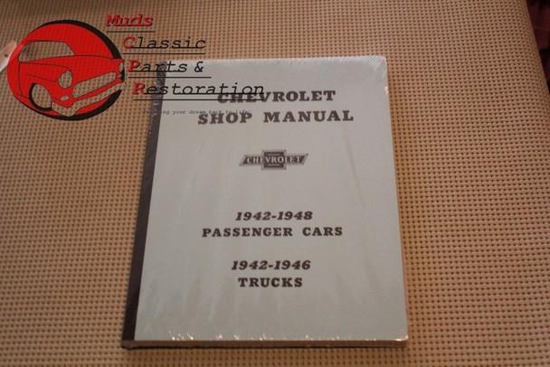 42 43 44 45 46 47 48 Chevy Car 42 43 44 45 46 Chevy Truck Shop Manual