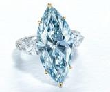 12-Carat Blue Diamond Headlines Christie's First Live Auction Since Outbreak
