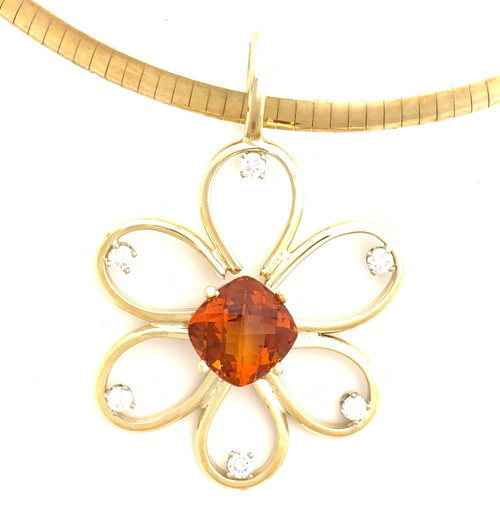 Scott Hall Flower Pendant