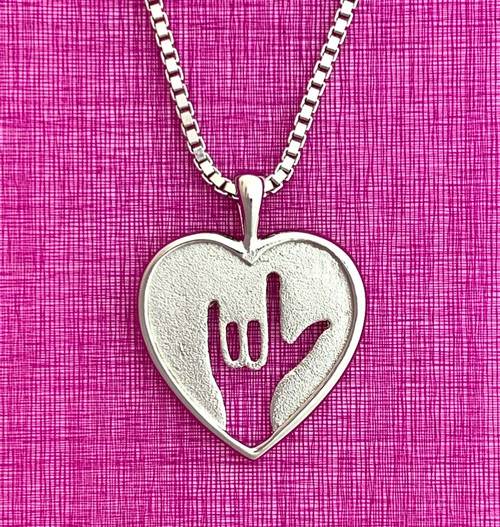 Sign Heart Pendant