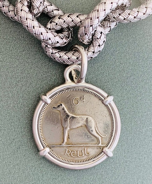 Irish Hound Coin Bracelet