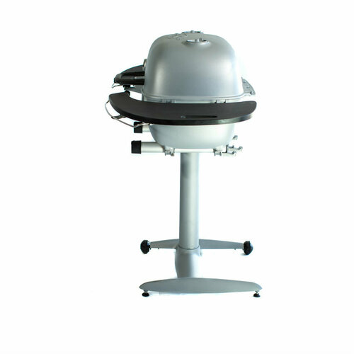 The all new PK360 is the new mid-size PK Grill & Smoker. With 360 square inches of cooking space, plus included black Durabilium (tm) shelves and stand, the PK360 is setting a new standard for the high-end charcoal cooker by offering more value than other high-end charcoal cookers.