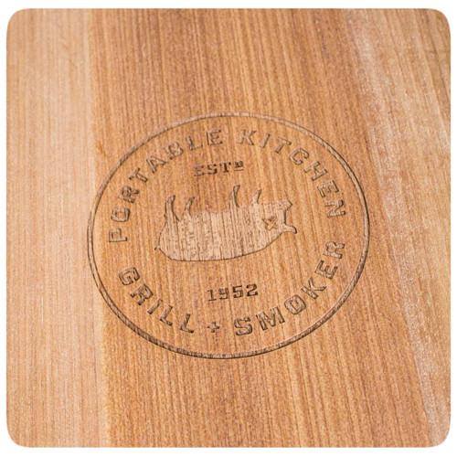 The PK Grills Durable Teak Cutting Board