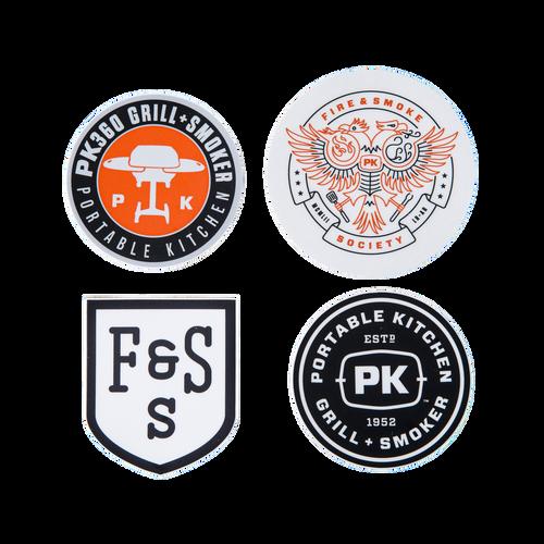 PK Grills Sticker Bundle