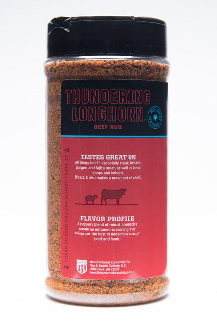 Thundering Longhorn Beef Rub by Fire & Smoke Society