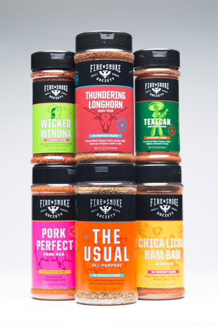 The Fire & Smoke Society Spice Collection