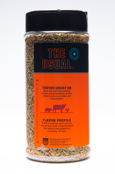 The Usual All-Purpose Spice Blend by Fire & Smoke Society