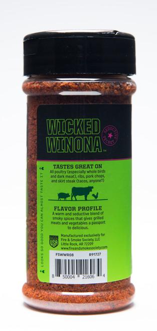 Wicked Winona Spice Blend by Fire & Smoke Society