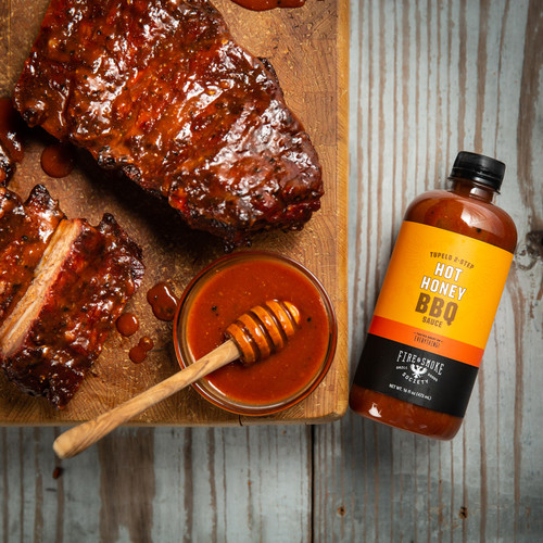 F&S   Tupelo Two Step Sweet Honey BBQ Sauce 16.4 oz